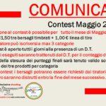 informazioni Contest di Maggio